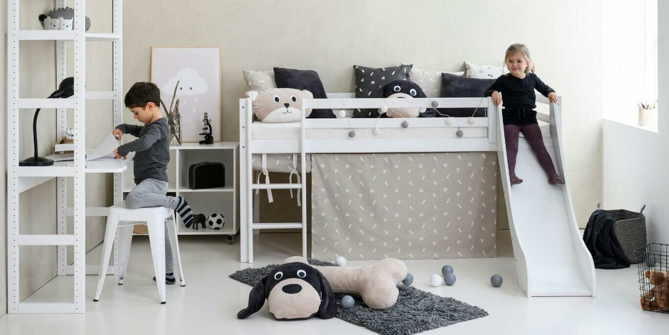 Find den bedste halvhøje seng til dit barn