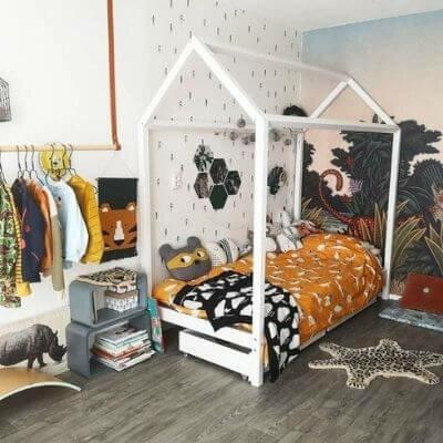 Svanemærket husseng til børneværelset fra Hoppekids