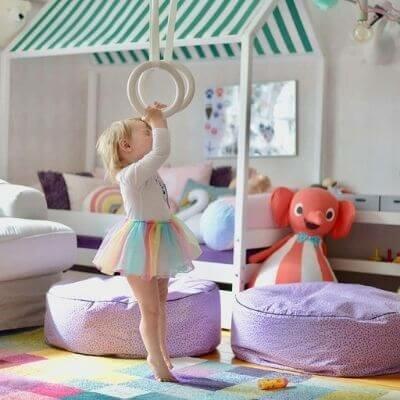 Svanemærket husseng DIY fra Hoppekids