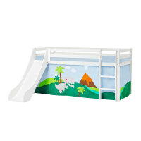 Hoppekids BASIC Halfhigh Bed (Non-Dividable) with Slide...