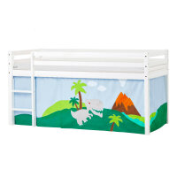 Hoppekids BASIC Halfhigh Bed (Non-Dividable) with...