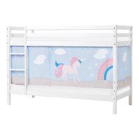 Hoppekids BASIC Etagenbett mit Unicorn Vorhang