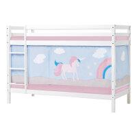 Hoppekids BASIC Etagenbett (nicht teilbar) mit Unicorn...