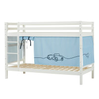 Hoppekids BASIC Bunk Bed with Cars Curtain