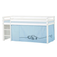 Hoppekids BASIC Halfhigh Bed (Non-Dividable) with Cars...