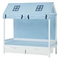 Hoppekids IDA MARIE house bed 70x160 cm Bundle with Textiles