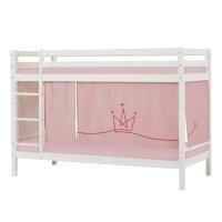 Hoppekids BASIC Etagenbett mit Princess Vorhang