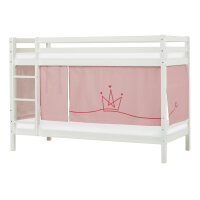 Hoppekids BASIC Bunk Bed (Non-Dividable) with Princess Curtain