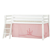 Hoppekids PREMIUM Halfhigh Bed with Princess Curtain