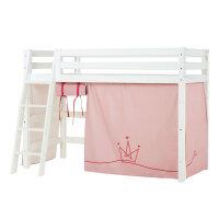 Hoppekids PREMIUM Midhigh Bed with Princess Curtain