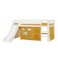 Hoppekids BASIC Halfhigh Bed with Slide and Creator...