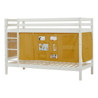 Hoppekids BASIC Bunk Bed with Creator Curtain in Autumn...