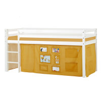 Hoppekids BASIC Halfhigh Bed (Non-Dividable) with Creator...