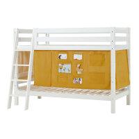 Hoppekids PREMIUM Bunk Bed with Creator Curtain in Autumn...