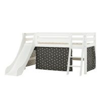 Hoppekids PREMIUM Halfhigh Bed with Slide and Pets...