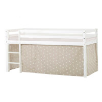 Hoppekids BASIC Halfhigh Bed (Non-Dividable) with Pets...