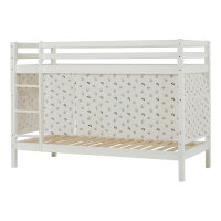 Hoppekids BASIC Bunk Bed with Pets Curtain in Pristine