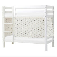 Hoppekids PREMIUM Bunk Bed with Pets Curtain in Pristine