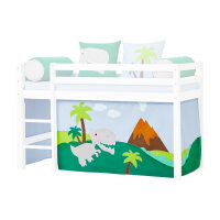 Hoppekids Curtain Dinosaur for Halfhigh and Bunk Bed