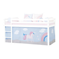 Hoppekids Curtain Unicorn for Halfhigh and Bunk Bed