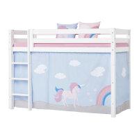 Hoppekids Curtain Unicorn for Midhigh Bed