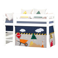 Hoppekids Curtain Construction for Halfhigh and Bunk Bed