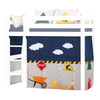 Hoppekids Curtain Construction for Midhigh Bed