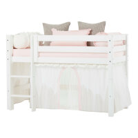 Hoppekids Curtain Winter Wonderland with Tulle for...