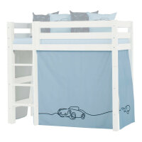 Hoppekids Curtain Cars for Midhigh Bed
