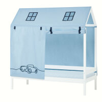 Hoppekids House Bed Textile Cars for Hausbetten