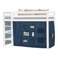 Hoppekids Curtain Creator in Orion Blue for Midhigh Bed