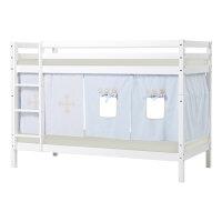 Hoppekids BASIC Bunk Bed with Fairytale Knight Curtain