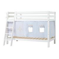 Hoppekids PREMIUM Bunk Bed with Fairytale Knight Curtain