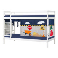 Hoppekids BASIC Bunk Bed with Construction Curtain